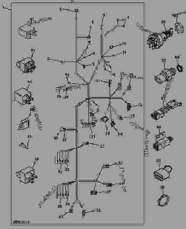 john deere 4310 electrical diagram