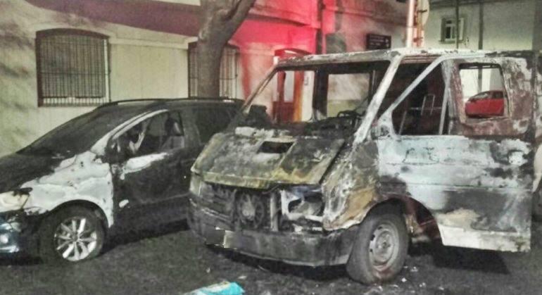 auto incendio Kicillof