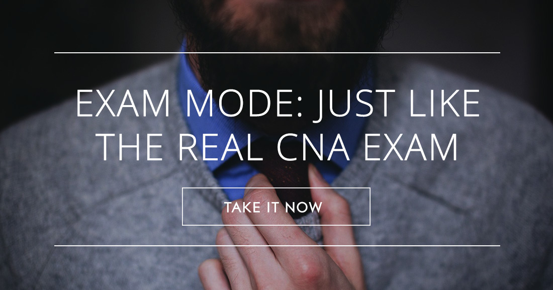 FREE CNA Practice Test Just Like the Real Exam!