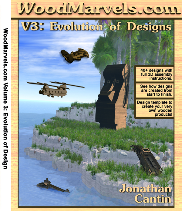 WoodMarvels Volume 3 Evolution of Designs Front Cover - CNCKing