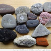 Laser Engraving Beach Pebble Stones: Indepth Material Review