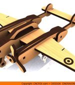 1-p38 P-38 Lightning Aircraft Kit