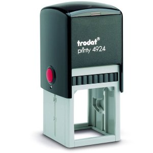"trodat-4924 Trodat Original Printy 4924 Custom Self-Inking Stamp (40 mm or 1-5/8"" square)"