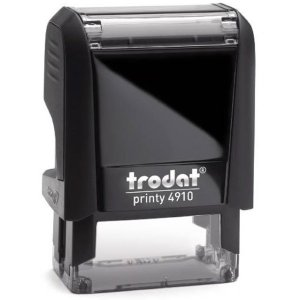 "trodat-printy-original-4910 Trodat Original Printy 4910 Custom Self-Inking Stamp (9 x 26 mm or 3/8 x 1-1/32"")"