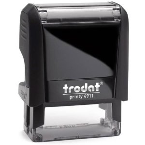 "trodat-printy-original-4911c Trodat Original Printy 4911 Custom Self-Inking Stamp (14 x 38 mm or 9/16 x 1-1/2"")"