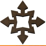0143-snowflake-pinty-arrow Pointy Arrow Snowflake Shape (0143)