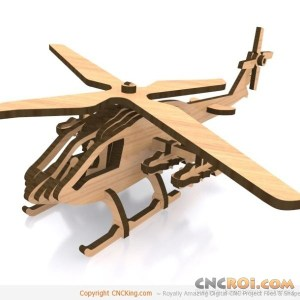 cnc-laser-attack-helicopter-1 Attack Helicopter
