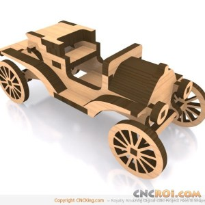 cnc-laser-model-t-1 1911 Ford Model T Torpedo Runabout