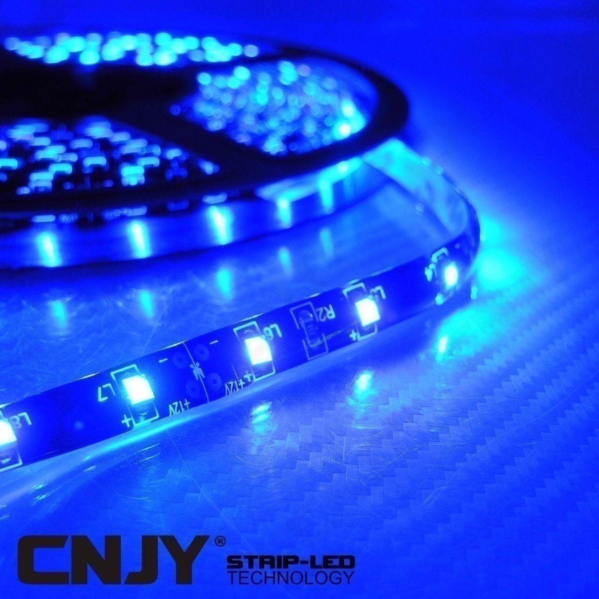 Eclairage Led Etanche Pour Aquarium 1 Ruban De Led Smd 3528 Bleu Ip65 12v 60led Mètre Strip