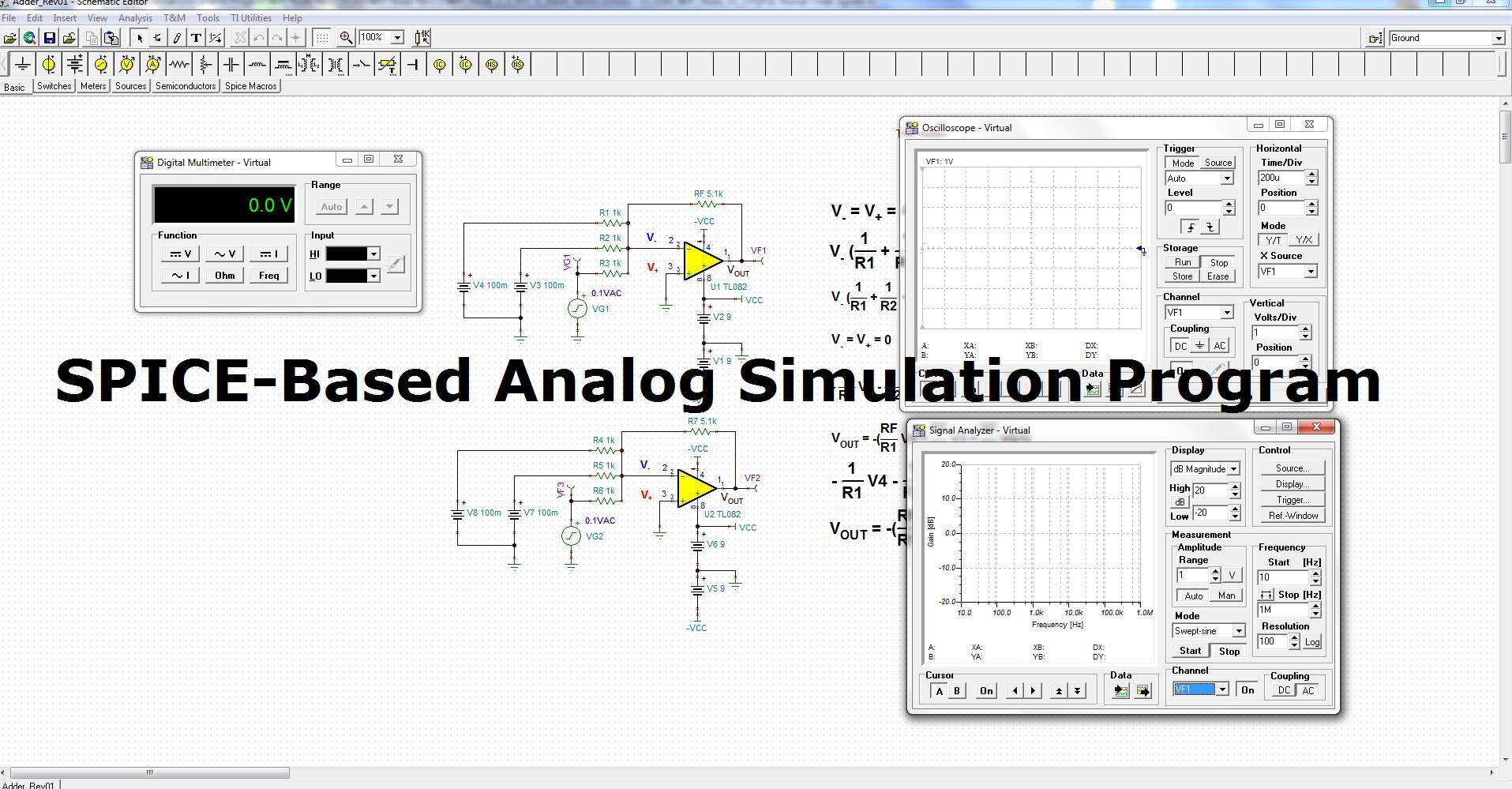 tinati circuit simulator