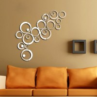 Hot DIY Acrylic Mirror Wall Stickers Very Nice Office ...