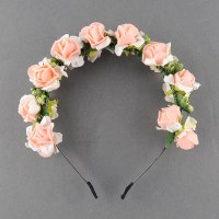 Flower Garland Floral Bridal Headband Hair band Wedding ...