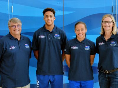 Cayman's swimmers competing at world championships