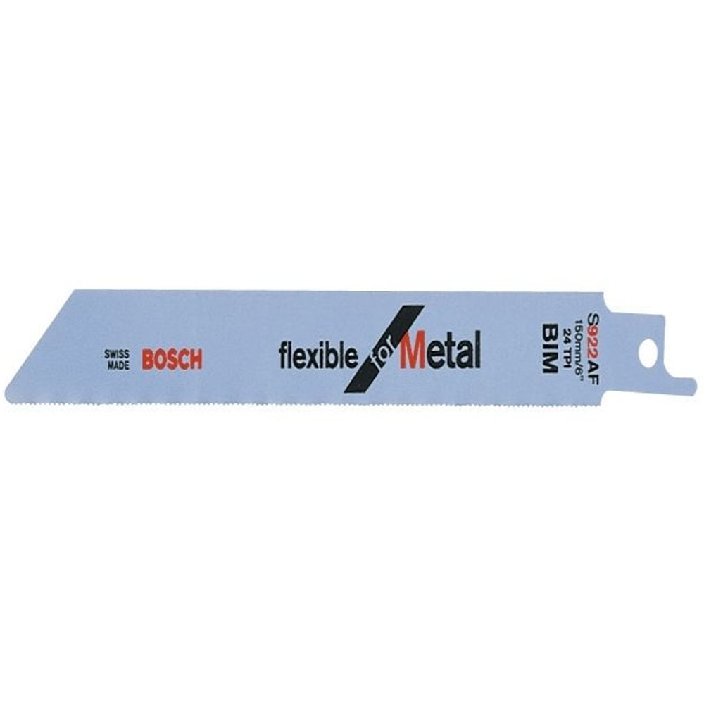 Bosch Flex Bosch Flex Metal Unishank S922 Af Reciprocating Saw Blade Pack Of 5 2608656013