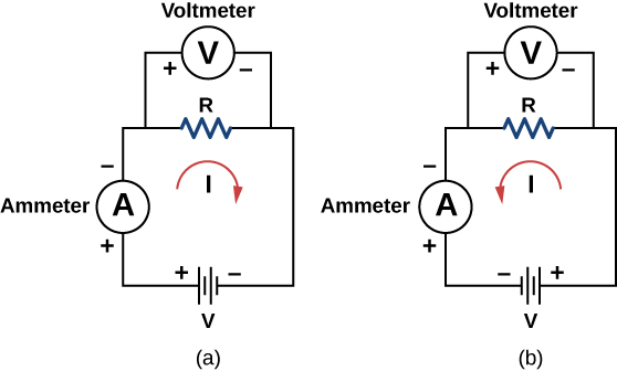 figure 4 in a series circuit left the electrical current