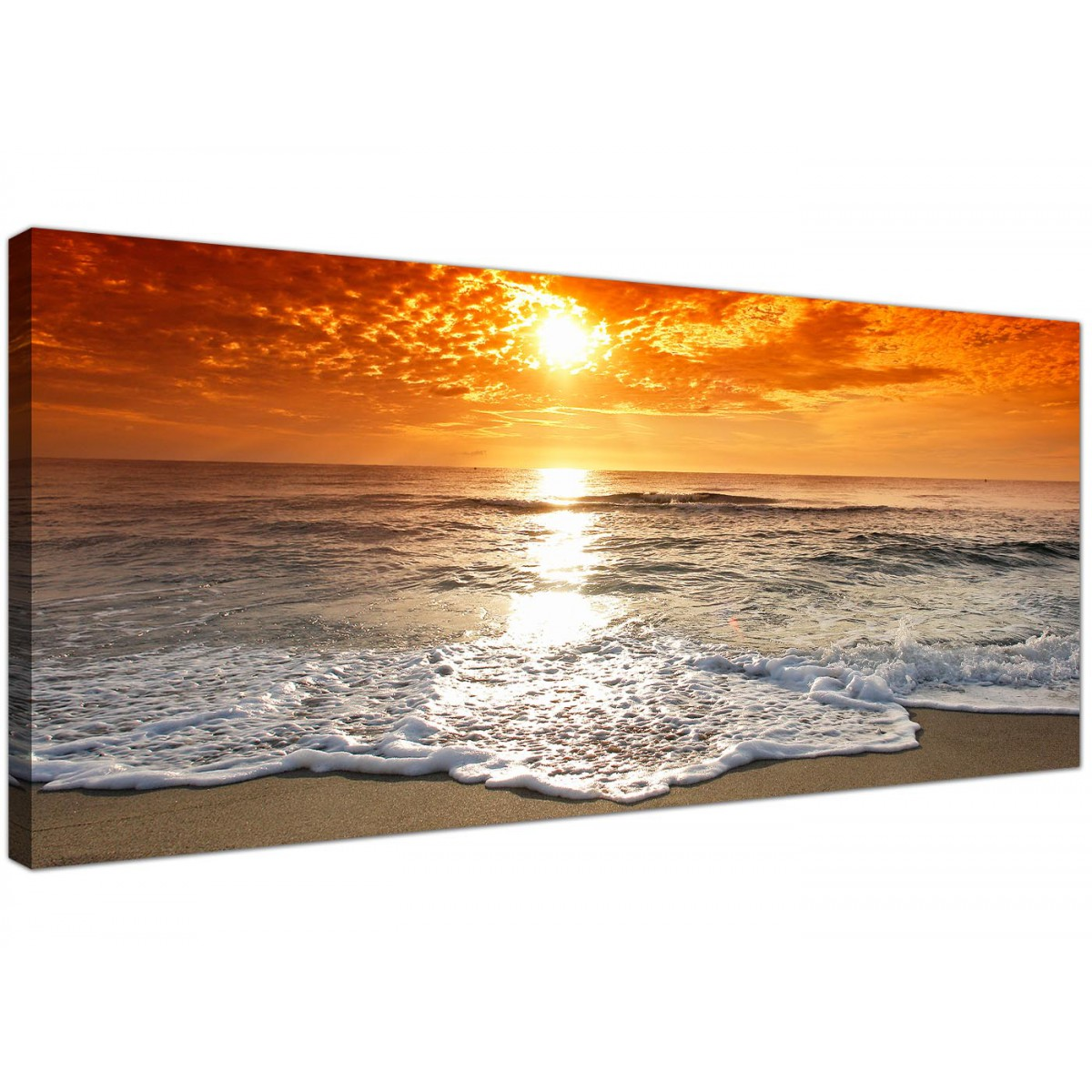 Cheap Canvas Pictures Cheap Canvas Pictures Of A Beach Sunset For Your Bedroom