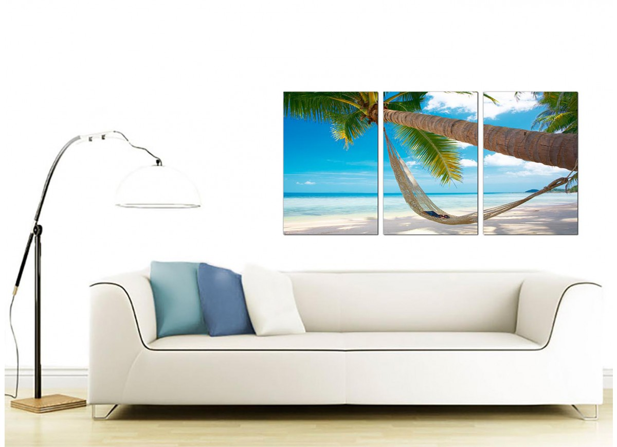 Cheap Canvas Pictures Cheap Tropical Beach Canvas Prints Uk 3 Panel For Your