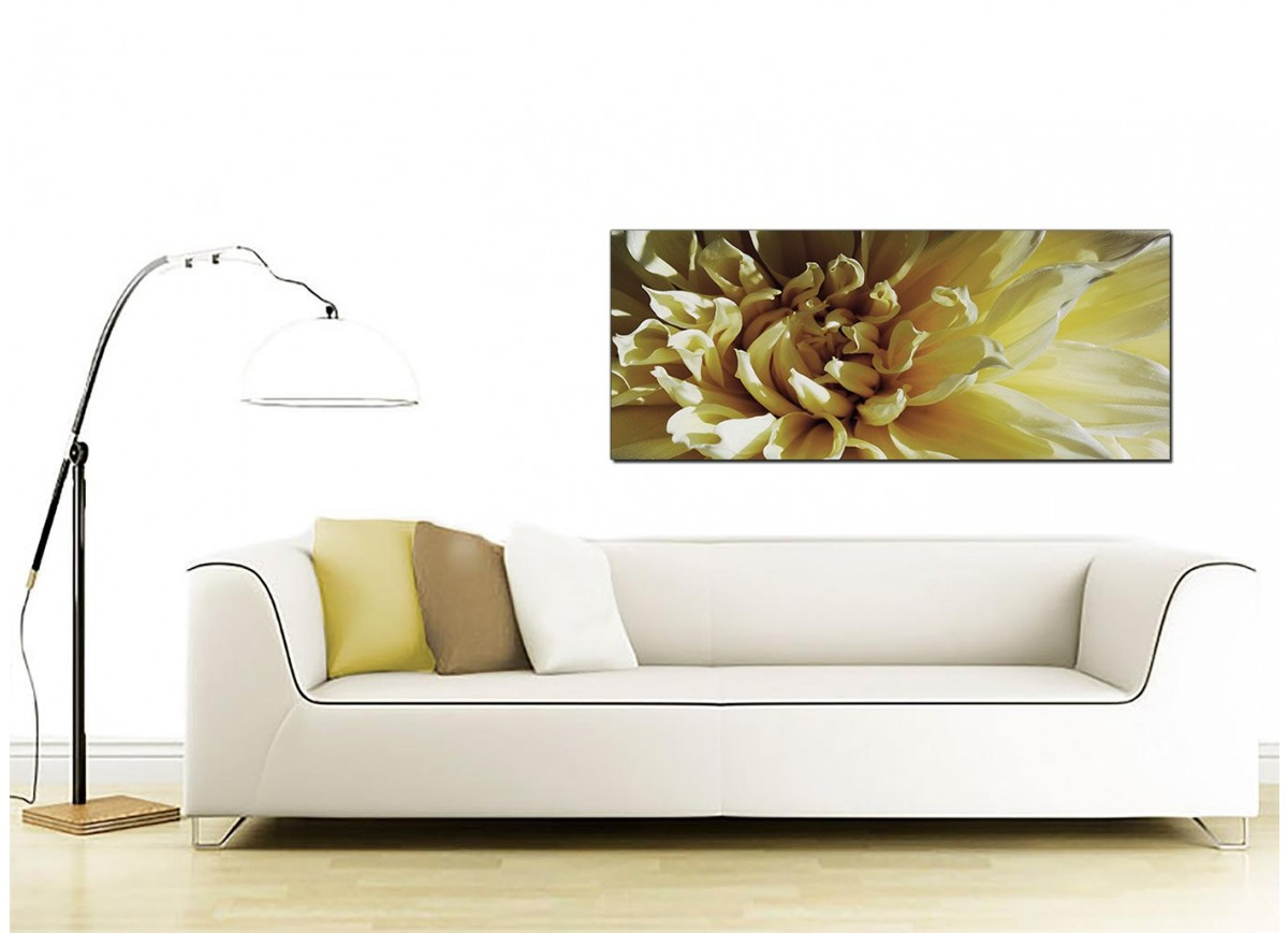 Cheap Canvas Pictures Modern Cream Canvas Prints Of A Chrysanthemum Flower