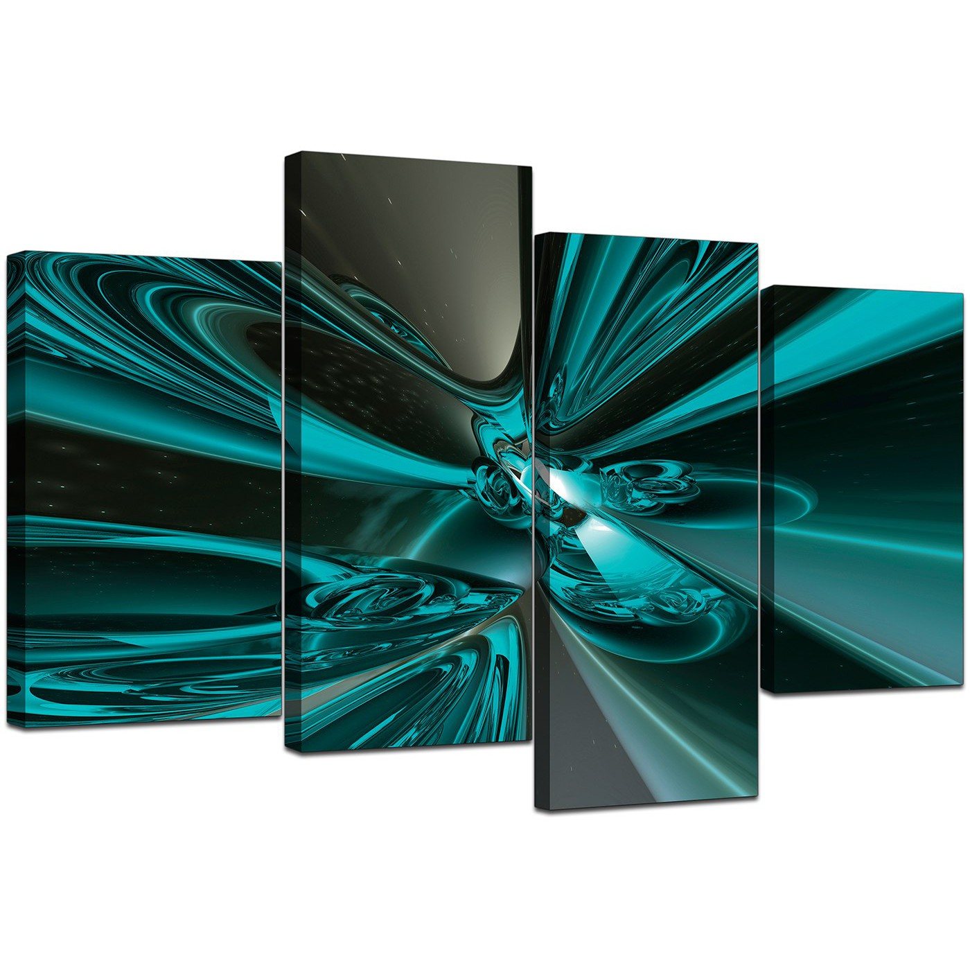 Large Canvas Prints Cheap Large Abstract Canvas Art In Teal For Living Room