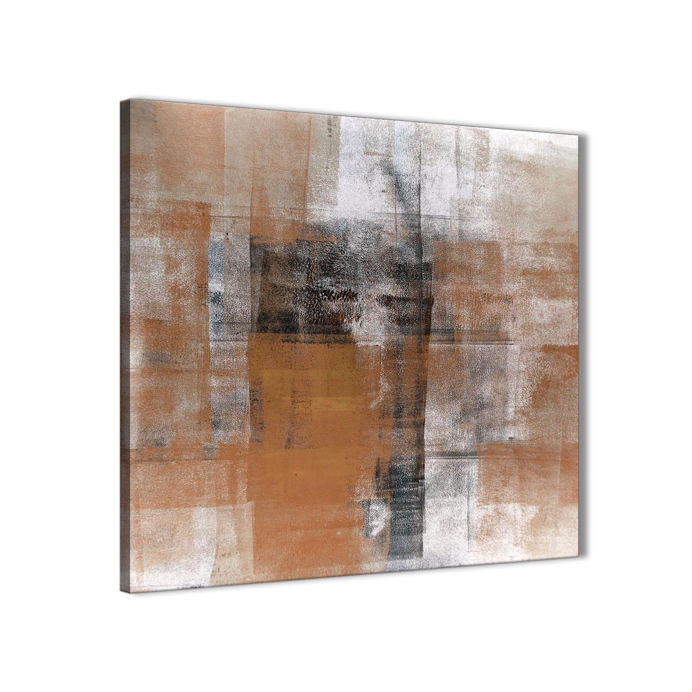 Cheap Canvas Pictures Orange Black White Painting Bathroom Canvas Wall Art