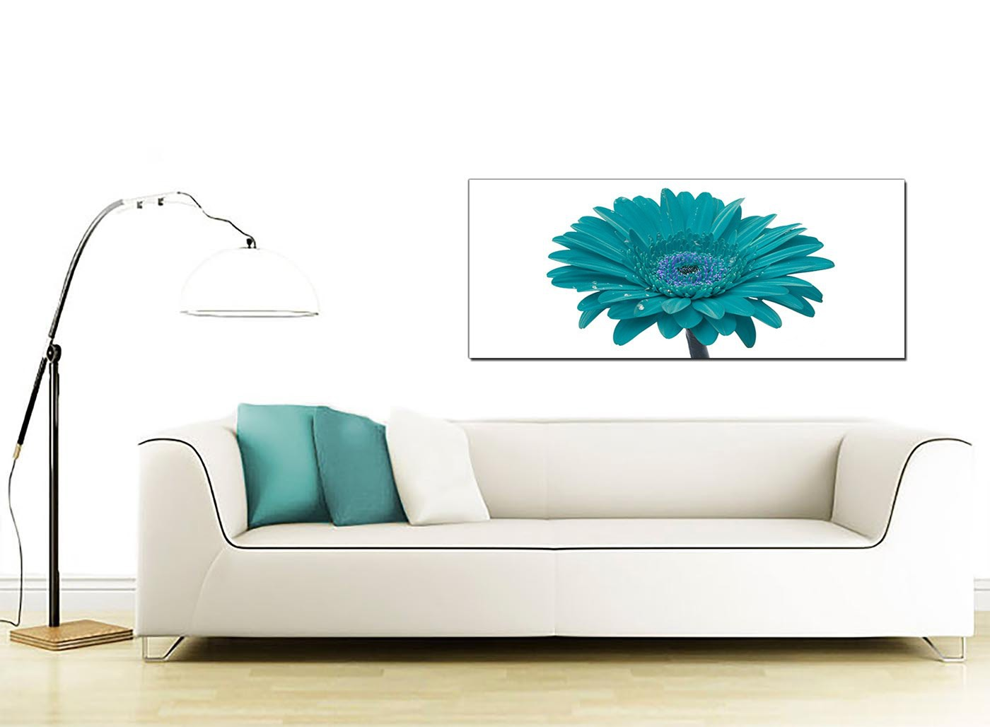 Cheap Canvas Pictures Cheap Teal Canvas Pictures Of A Daisy Flower