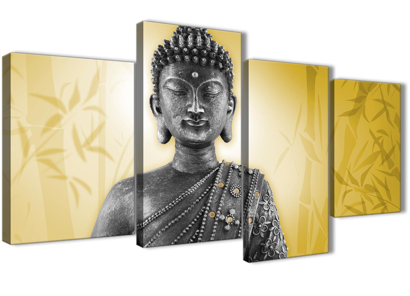 Silver Buddha Wall Art - Elitflat