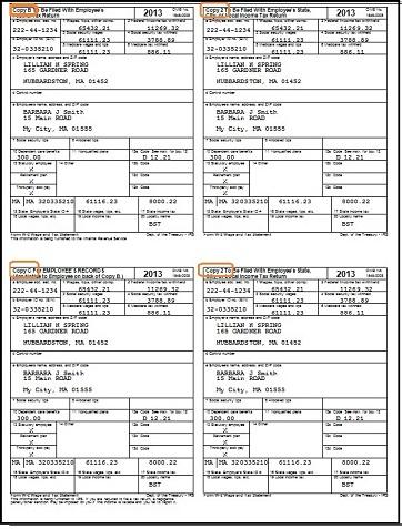 Employee Form W 2 2014   Customer Service Resume Example