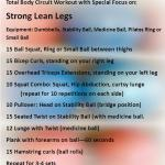 Total Body Functional Workout with Special Focus on Strong Lean Legs