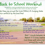 Friday Fitness: A Back to School Workout