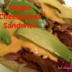 """Vegan """"Sports Food:"""" Pizza and Cheesesteak"""