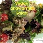 Vegan Recipe: Shawarma Salad
