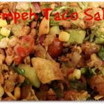Vegan Recipe: Tempeh Taco Salad