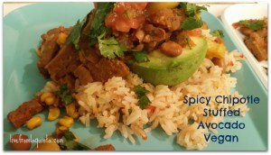 Vegan Recipe: Spicy Chipotle Seitan with Avocado