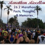 Marathon Miscellany: 26.2 Facts, Thoughts, and Memories