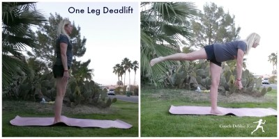 One Leg Deadlift