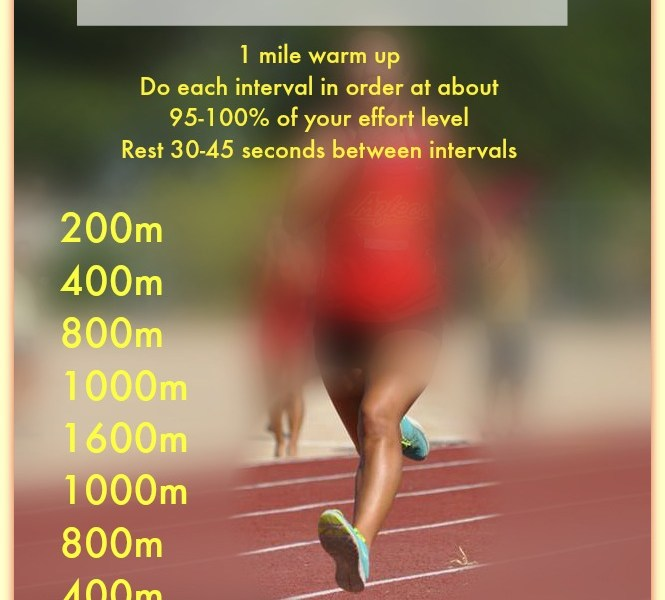 Running Wednesday: My Favorite Pure Speed Workout