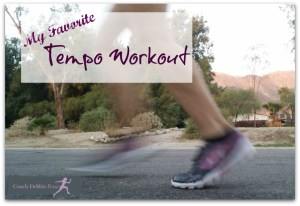 Running Wednesday: My Favorite Tempo Workout