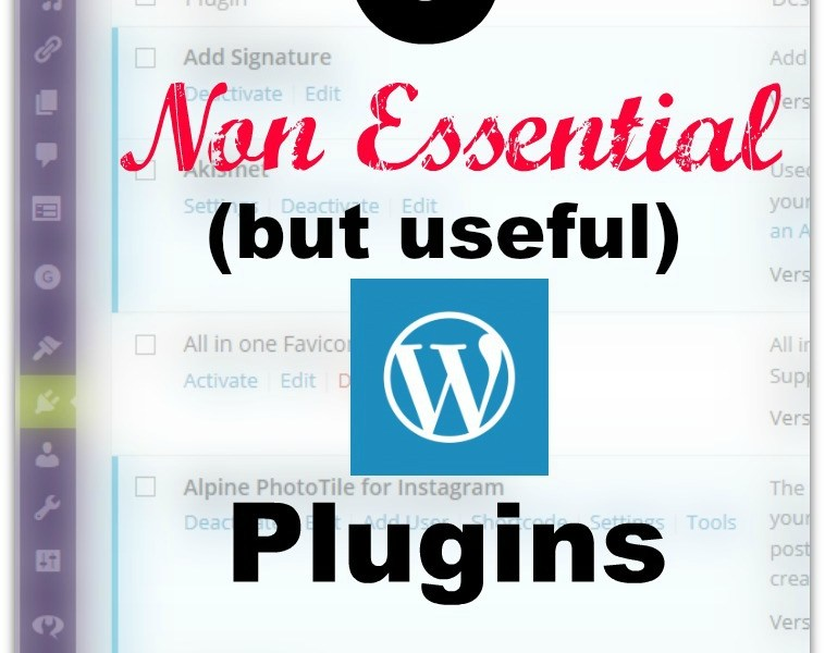 6 Non-Essential WordPress Plugins that I Love