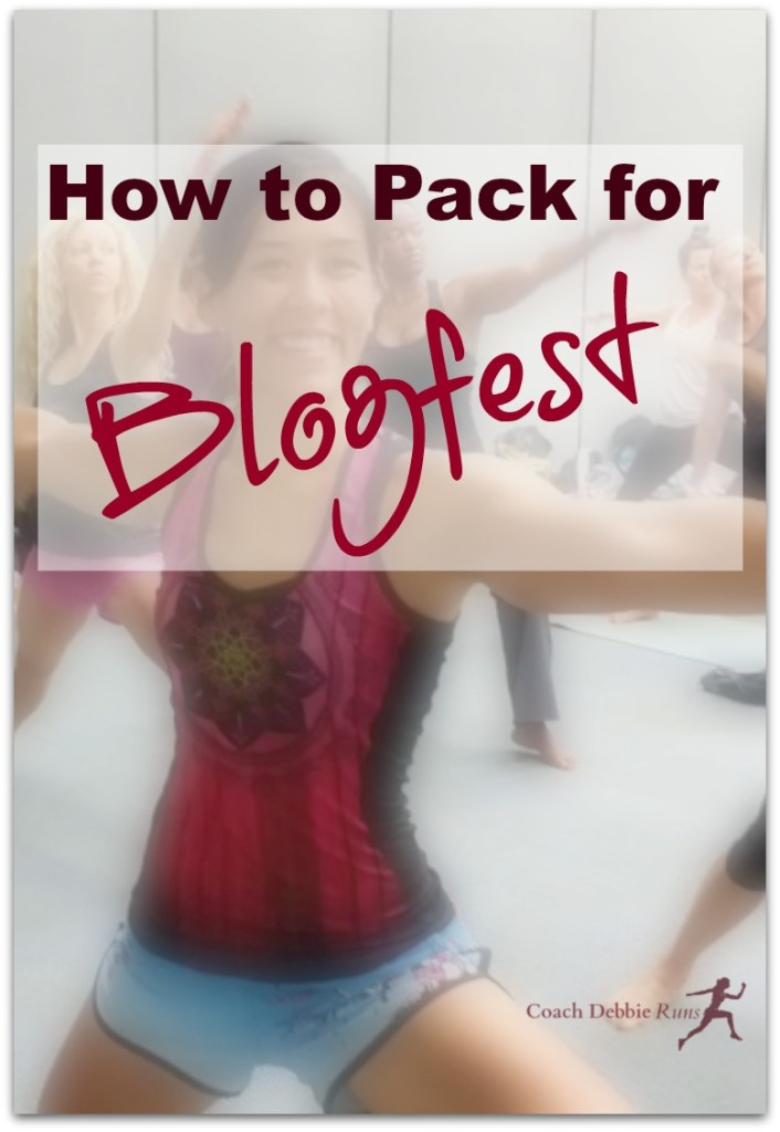 Packing for Blogfest