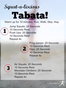A Squat-a-liscious Tabata Workout, Brick Betty, and the Lucky Streak