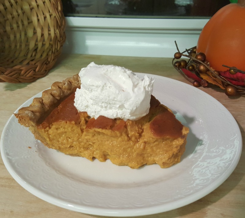 This luscious pumpkin pie is an easy vegan treat.