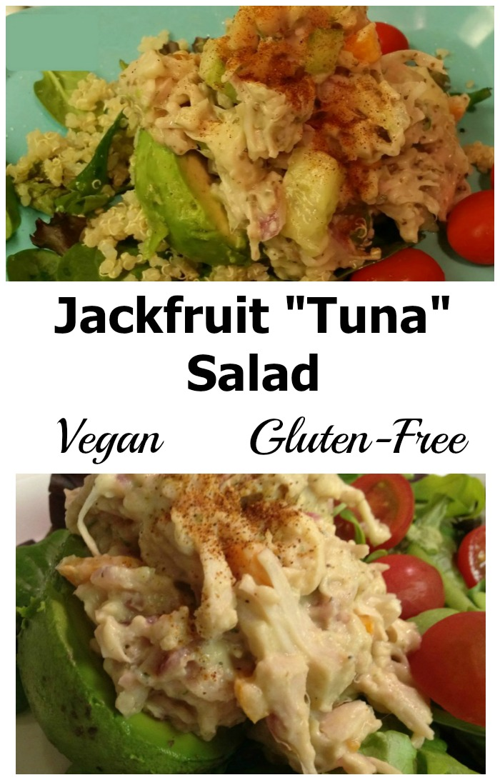 Discover the amazing jackfruit with this vegan tuna salad. It is ...
