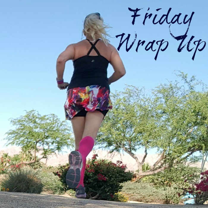 Lots of fun stuff for this Friday Wrap Up. My recap of Jazzercise Live, news about Skirt Sports summer sale, learn about the right compression level, and my favorite posts of the week.
