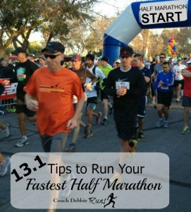 13.1 Tips to Run your Best Half Marathon and a Race Giveaway