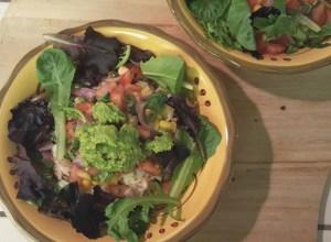 The Ultimate 30 Minute Vegan Spicy Black Bean Burrito Bowl