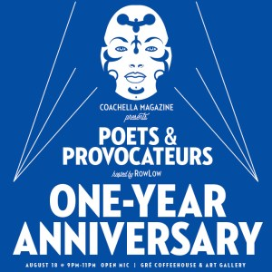 Poets and Provocateurs #13 @ Gré Coffeehouse & Art Gallery | Palm Springs | California | United States