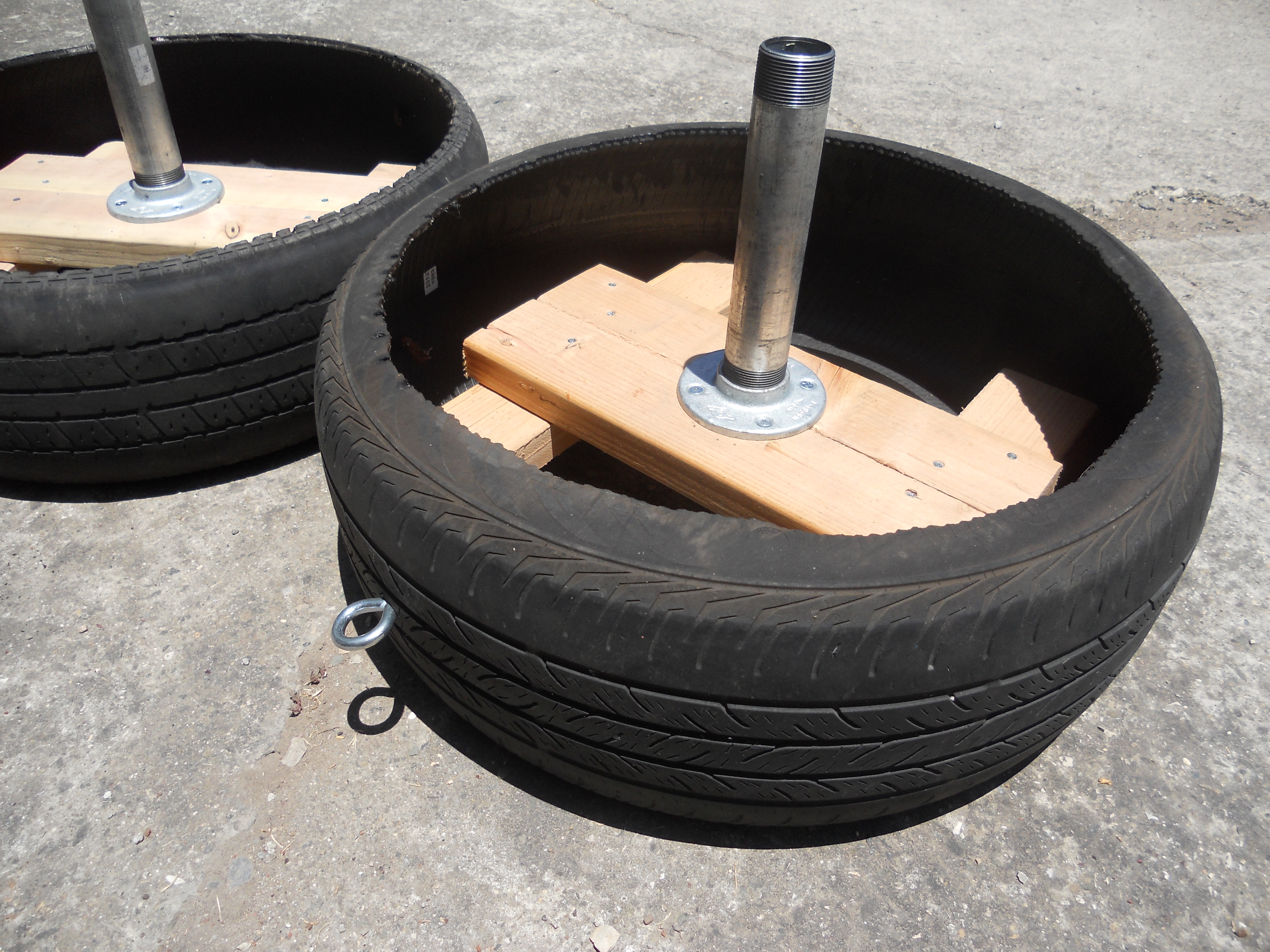 Tire Sled Coach Goodin