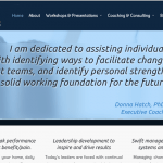 after for donna's coaching website