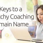 catchy coaching domain names