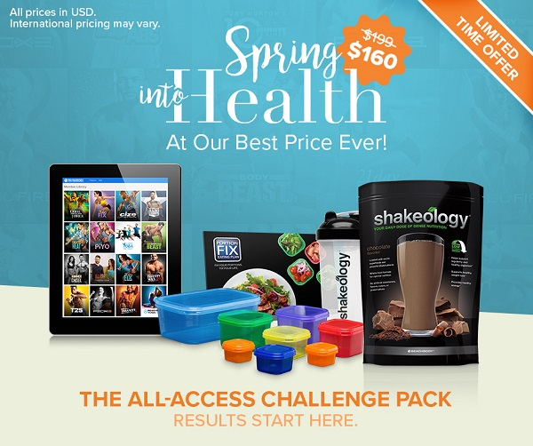 Image result for beachbody annual all access pass challenge pack